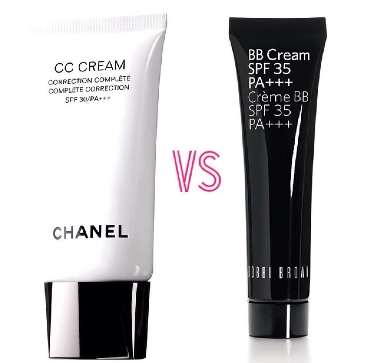 chanel cc cream vs bobbi brown bb cream modest blush. Black Bedroom Furniture Sets. Home Design Ideas